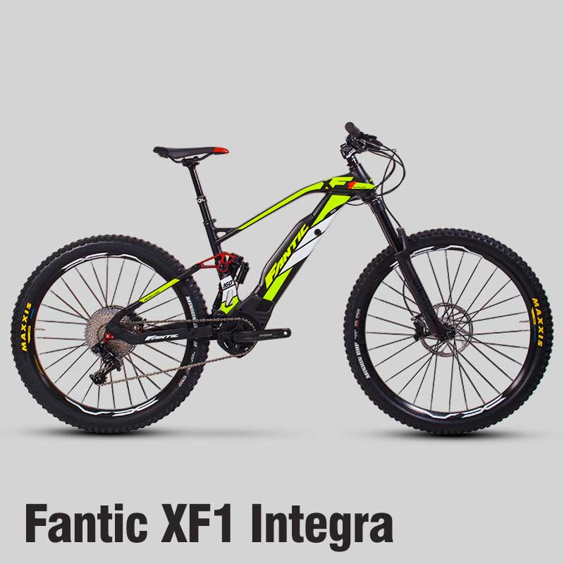 """1 x Fantic XF1 Integra electric mountain bike in a medium frame suitable for riders 5'4"""" to 6'"""