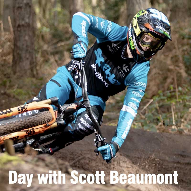 1 x Day off road mountain cycling with Scott Beaumont, acclaimed off road cyclist.