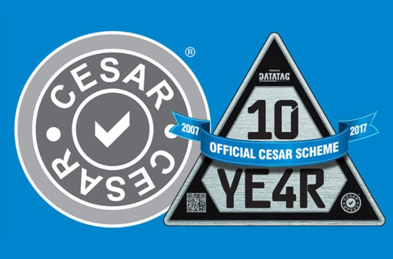 CESAR MARKS A DECADE AT PLANTWORX