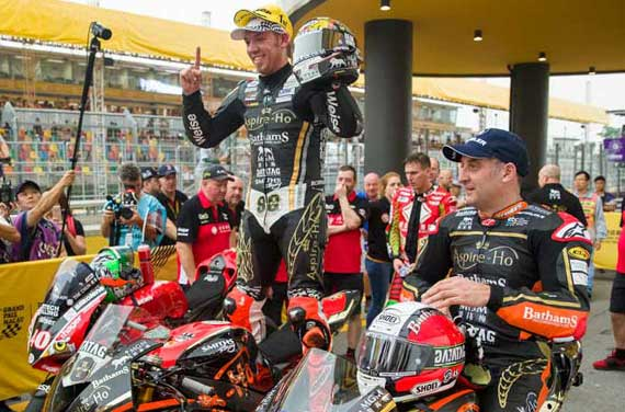 DATATAG SPONSOR HICKMAN AND RUTTER AT MACAU